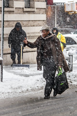 Awful Weather | New York City, USA (Epskamp) Tags: street nyc newyorkcity portrait people snow newyork weather america unitedstatesofamerica ngc streetscene emotions canoneos550d efs55250mmf456isii