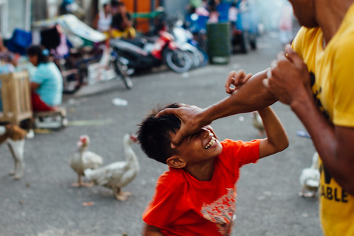 Play Fighting, Cebu City Philippines