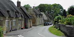 The High Street in Exton (AndyorDij) Tags: uk summer unitedkingdom thatch rutland exton thatchedcottage 2011