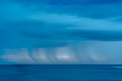 Offshore Rain (www.karltonhuberphotography.com) Tags: ocean longexposure seascape storm motion nature wet rain weather outdoors energy moody gloomy pacificocean southerncalifornia drama refreshing invigorating naturalworld damp californiacoastline approachingstorm 2015 fallingrain nourishing karltonhuber nikond750