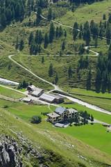 Hotel Fex (Riex) Tags: mountains alps building alpes landscape hotel schweiz switzerland suisse alpine greenery svizzera paysage verdure a100 batiment engadine montagnes amount graubnden grisons alpage graubunden paturage valfex sal1680z minoltaamount carlzeisssonyf35451680mm hotelfex variosonnartdt35451680