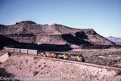 Image 00150179, Kingman, AZ, January 1989 (Rkap10) Tags: railroad arizona santafe other places