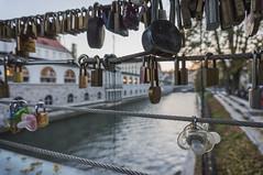 Butchers' Bridge, Ljubljana (Stergios Roumeliotis) Tags: bridge love river slovenia ljubljana locks butchers ljubljanica