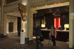 Hotel lobby (A. Wee) Tags: germany hotel europe lobby lemeridien     stuttgart