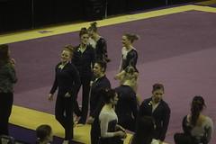 Kaitlyn Duranczyk floor (Susaluda) Tags: uw sports gold washington university purple huskies gymnastics dawgs