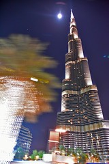 Burj Khaleefa (Ormastudios) Tags: building night architechture dubai shot worlds burj tallest khaleefa