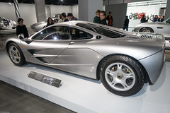 McLaren F1 (S000726) (Thomas Becker) Tags: auto copyright history classic car museum racecar vintage geotagged losangeles automobile raw thomas c sony iii kultur culture automotive f1 voiture mclaren bmw bil vehicle oldtimer british 1995 racer fahrzeug v12 petersen becker geschichte youngtimer britisch automobil  2470 aviationphoto 160131 dsxrx100 dscrx100m3 geo:lat=340626800 geo:lon=1183610300