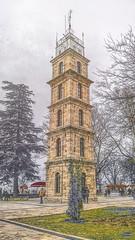 Clock Tower (Seyfettin Bulut) Tags: old city tower history clock nature architecture ottoman 1906 saat bursa mimari kule 2016 tophane osmanl tarih