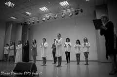 DSC_0324 (imramianna) Tags: show portrait people bw female dance university theatre performance ukraine uman visavis musicalperformance contemp