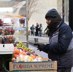 Florida Supreme (pjpink) Tags: nyc newyorkcity winter newyork cold fruit vendor february fruitstand streetvendor 2016 pjpink