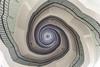 Okraglak, Poznan (przemyslawkrzyszczuk) Tags: poznan poznań posen poland polska polonia round house staircase okraglak okrąglak posnania schody stairs city white light swiatlo spiral spirala