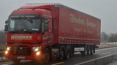 IRL - Hendrick European Renault Range T 3a (BonsaiTruck) Tags: truck renault lorry camion trucks range lastwagen lorries lkw hendrick lastzug