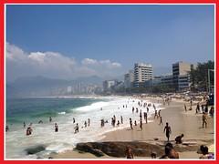 Ipanema vista do Arpoador (Ronaldo Miranda, compositor) Tags: sun sol praia fog riodejaneiro neblina ipanema arpoador brach 2016