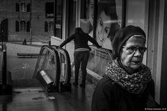*** (Rense Haveman) Tags: street bw monochrome nijmegen blackwhite streetphotography highcontrast mirrorless rensehaveman fujix100t