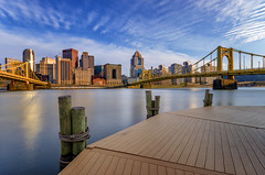 Spring Vibes (Brad Truxell) Tags: city river spring pittsburgh bridges boardwalk hdr alleghenyriver sigma1020mm nikond7000