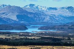 Loch Lomond (mistinguette.mistinguette) Tags: sky snow water landscape outdoor trossachs montain