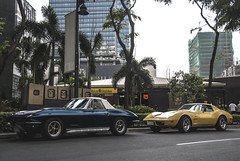 Stingrays (Justin Young Photography) Tags: cars chevrolet stingray philippines manila corvette c2 c3
