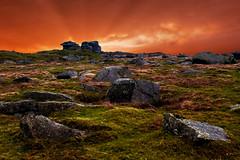 INNER GLOW (mtphotoman) Tags: sunset clouds landscape nikon tor nikkor dartmoor strom d800