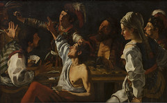 Card and Backgammon Players. Fight over Cards (Grandiloquences) Tags: cards 17thcentury chiarascuro boardgames playingcards daggers cardgames backgammon taverns fights cheats rombouts cardplayers 1610s baroqueart brawls flemishart 1620s flemishpainters backgammonplayers caravaggesque caravaggisti flemishbaroque genrescenes theodoorrombouts caravaggism flemishartists genrepainters northernbaroque flemishcaravaggism flemishcaravaggisti
