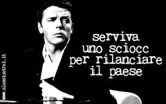 Renzi vuole inaugurare un tunnel svizzero. Il ragazzo  un po' Got-tardo (SatiraItalia) Tags: satira gaffe renzi gottardo