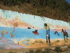"""No a Octopus"" (""YONO"") Tags: chile naturaleza del caballo graffiti botes mar mural paint no bio playa paseo alas otra gaviotas playas yono sudamericano chileno sprays saca octava regin 2016 tom muralismo napes dimensin a sudaka octtopus"