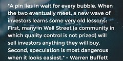 How Warren Buffett Thinks Financial Bubbles Grow To Massive Sizes (exploringmarkets) Tags: bubbles stocks quotes trading buffett warren financial economics finance investing behavioral pictar