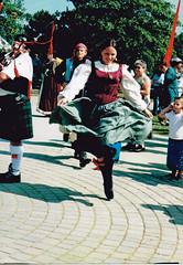 Dancing Lass (kevin63) Tags: music photo dancers monk tribal lass westvirginia renfaire piper skipping bellydancers tamarack lightner bagpipe beckley
