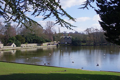 Melbourne Hall - The Lake (Graham Woodward) Tags: manorhouses melbournederbyshire derbyshirehouses