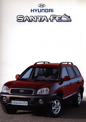 Hyundai Santa Fe; 2001_1 (World Travel Library) Tags: world auto santa 2001 travel red cars car by ads drive photo model automobile ride image photos library go wheels transport picture automotive center literature korean photograph papers vehicle motor makes collectible fe collectors sales hyundai brochures catalogue  catlogo documents fahrzeug frontcover motoring wagen folleto automobil  folheto prospekt dokument katalog  esite ti liu worldcars bror broschyr    worldtravellib