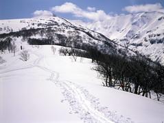 Road to Mt.Shokanbetsu (threepinner) Tags: mamiya japan hokkaido 55mm   positive f28 hokkaidou rvp northernjapan sekor mashike m645  mountainsnaps mtshokanbetsu