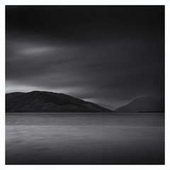 Toward (Damian_Ward) Tags: ocean sea bw mountains monochrome photography mono coast scotland blackwhite seaside hills seafront backandwhite toward bute rothesay isleofbute kylesofbute argyllandbute rothesaybay damianward buteandargyll eileanbhòid eileanbhòdach ©damianward buachailean
