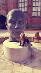 Sunday funday 115/366 240416 (Carmen's Year) Tags: freya head sculpture pad apr hpad240416