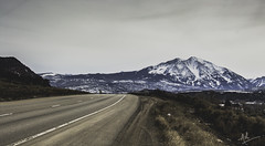 Because it's there. (mk.aishwarya90) Tags: snow mountains colorado snowcapped roads roadside aspen