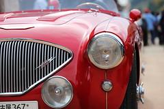 AUSTIN (Teruhide Tomori) Tags: old car japan drive town classiccar vintagecar rally  fukui  kumagawa     lafestaprimavera austinhealey1004bn2