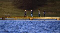 ABBEY ROAD!! (car 67) Tags: lake water garden royal studley littlepeopleabbey