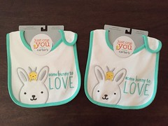 @Target Easter clearance also has these cute good quality baby bibs on sale at 90%off.Only $.39cents!Would make good addition to those baby shower baskets or gifts esp now that most of my friends are getting pregnant!So happy for them! #jlsfinds #Carters (Travel Galleries) Tags: usa baby white cute bunny green bunnies kids easter outfit discount child sale mint adorable save off wear target savings clearance 90 unisex littleones bibs carters ootd jlsfinds