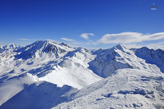 Mountain peaks of Val Thorens (A. Wee) Tags: mountain france alps peak summit valthorens   troisvalles les3valles