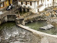2031  Camprodon, Girona (Ricard Gabarrs) Tags: water rio puente canal agua olympus rocas airelibre camprodon cauce ricgaba ricardgabarrus