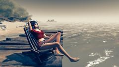 The girl and the ocean (heidi.rewell) Tags: secondlife maitreya exxess frisland catwa zddesign