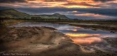 hills (smilne2112) Tags: sky mountains reflection water field grass puddle scotland fife hills falkland agraculture