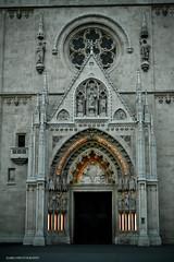Katedrala (darioD2) Tags: building church nikon cathedral dom kirche chiesa zagreb dslr crkva cattedrale dario katedrala d3100