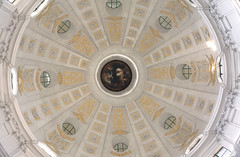 Cupola (Creanetivity) Tags: white church architecture munich indoor symmetry ceiling theatinerkirche