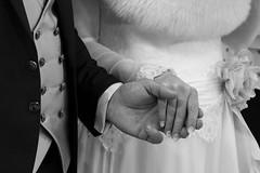 details (vimad97) Tags: wedding white black love closeup canon grey is hands moments grigio hand dress zoom buttons details ceremony mani dolce momento mano dettagli stm jib bianco nero amore matrimonio sposi fiocco cerimonia bottoni vestito 550d 55250