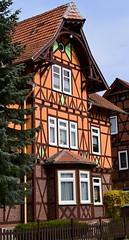 (:Linda:) Tags: two window germany town thuringia gable halftimbered hildburghausen