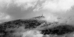 low clouds-08867 (TB 5161) Tags: sky bw cloud mountain snow nature norway fog norge blackwhite outdoor sony natur bergen ulriken hordaland noreg sonyslta77