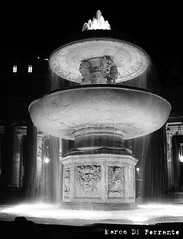 Fontana Piazza San Pietro/ San Peter Square Fountain (Marco Di Ferrante) Tags: rome roma sanpietro fontana bianco nero