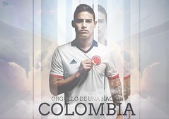James Rodrguez || Orgullo colombiano (TxsDesign) Tags: madrid proud real james football colombia colombian rodriguez colombiano orgullo txsdesign
