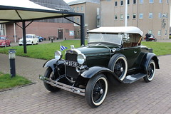 1930 Ford A (Davydutchy) Tags: auto show classic ford netherlands car march automobile nederland convertible voiture vehicle oldtimer frise cabrio paysbas friesland niederlande cabriolet drachten 2016 frysln pkw frisia aford automobiel a oldtimerbeurs