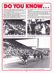 Charlton Athletic vs Reading - 1981 - Page 7 (The Sky Strikers) Tags: road cup magazine reading football athletic parade valley to league wembley charlton the matchday 40p
