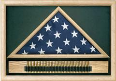 Memorial Flag Case with Cartridge Belt (flagconnections) Tags: belt memorial with flag case cartridge